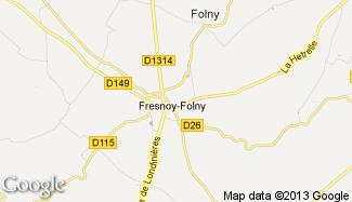 Plan de Fresnoy-Folny