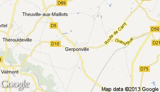 Plan de Gerponville