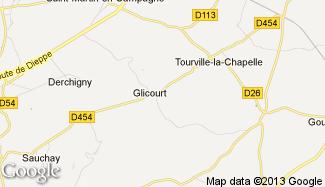 Plan de Glicourt