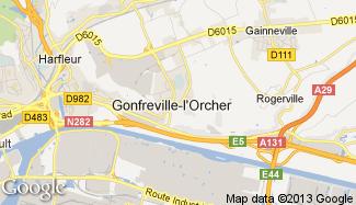 Plan de Gonfreville-l'Orcher
