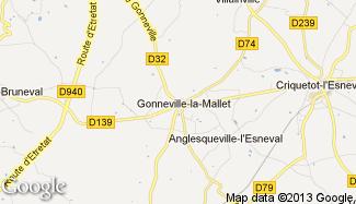 Plan de Gonneville-la-Mallet