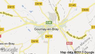 Plan de Gournay-en-Bray