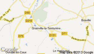 Plan de Grainville-la-Teinturière