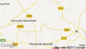 Plan de Grainville-sur-Ry