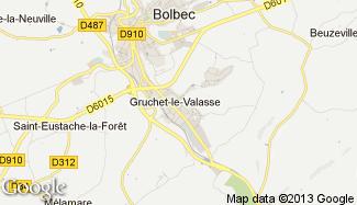 Plan de Gruchet-le-Valasse