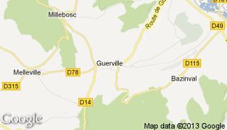 Plan de Guerville