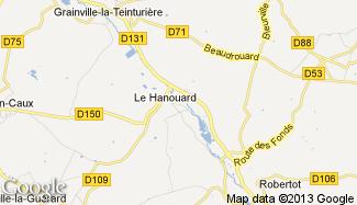 Plan de Le Hanouard