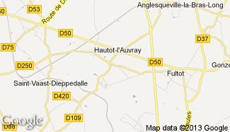 Plan de Hautot-l'Auvray