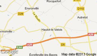 Plan de Hautot-le-Vatois