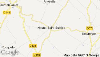 Plan de Hautot-Saint-Sulpice