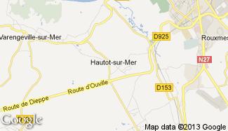 Plan de Hautot-sur-Mer