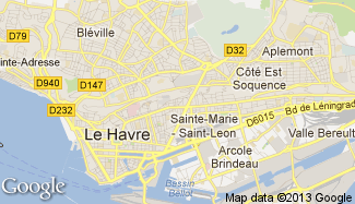 Plan de Le Havre