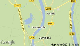 Plan de Heurteauville
