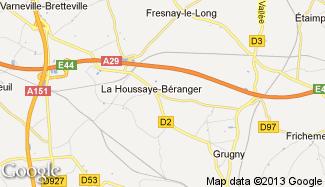 Plan de La Houssaye-Béranger