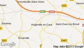 Plan de Hugleville-en-Caux