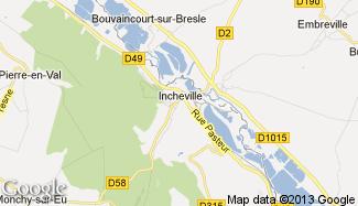 Plan de Incheville