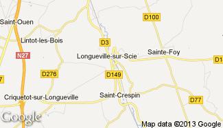Plan de Longueville-sur-Scie