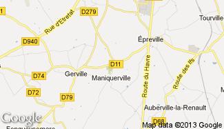 Plan de Maniquerville