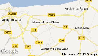 Plan de Manneville-ès-Plains