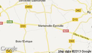 Plan de Martainville-Épreville