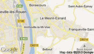 Plan de Le Mesnil-Esnard