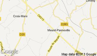 Plan de Mesnil-Panneville
