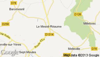 Plan de Le Mesnil-Réaume