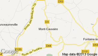 Plan de Mont-Cauvaire