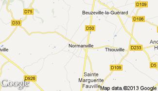 Plan de Normanville