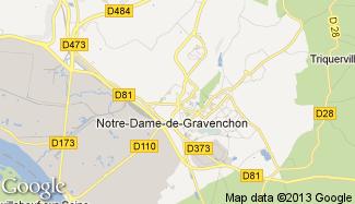 Plan de Notre-Dame-de-Gravenchon