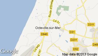 Plan de Octeville-sur-Mer