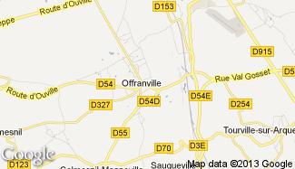 Plan de Offranville