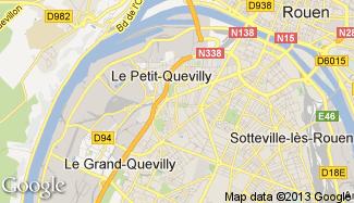 Plan de Le Petit-Quevilly