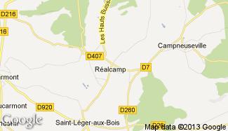 Plan de Réalcamp
