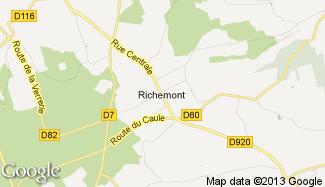 Plan de Richemont