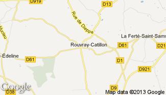 Plan de Rouvray-Catillon