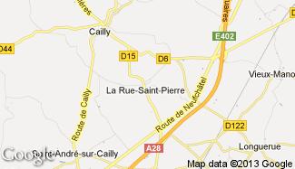 Plan de La Rue-Saint-Pierre