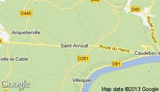 Plan de Saint-Arnoult
