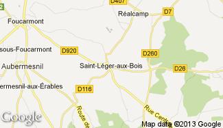 Plan de Saint-Léger-aux-Bois