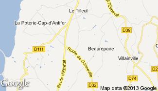 Plan de Sainte-Marie-au-Bosc