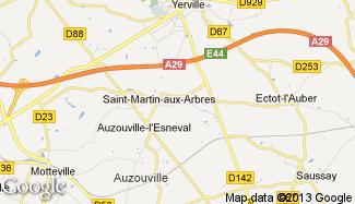 Plan de Saint-Martin-aux-Arbres