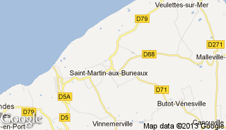 Plan de Saint-Martin-aux-Buneaux