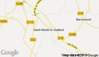 Plan de Saint-Martin-le-Gaillard