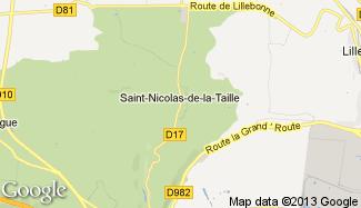 Plan de Saint-Nicolas-de-la-Taille