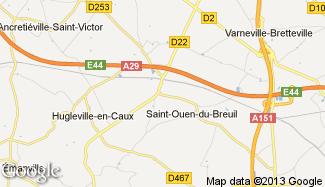 Plan de Saint-Ouen-du-Breuil