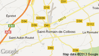 Plan de Saint-Romain-de-Colbosc