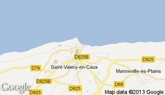 Plan de Saint-Valery-en-Caux