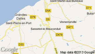 Plan de Sassetot-le-Mauconduit
