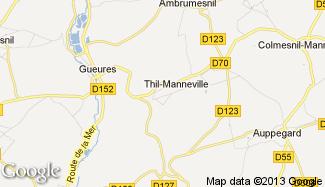 Plan de Thil-Manneville