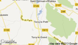 Plan de Torcy-le-Petit